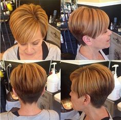 Short Hairstyles for Women - Short Haircut with Side Swept Bangs