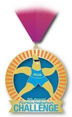 Florida Halfathon Challenge medal