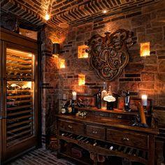 Nice wine cellar design