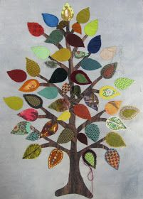 Sue Spargo: Workshop at Home Penny Rug Patterns, Tree Patterns, Felt Patterns, Wool Quilts, Felt Applique, Applique Cushions, Wool Embroidery, Tree Quilt, Penny Rugs