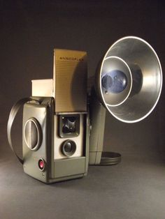 1950's Ansco Anscoflex II TLR Camera with Flash