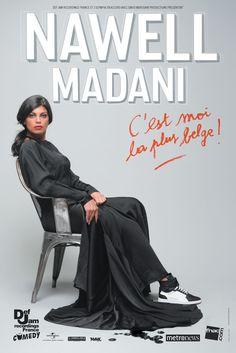 La nouvelle reine du stand up Nawell Madani en tournée!  #OneWomenShow #Humour