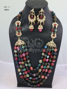 Designer multi layer necklace set for women and girls