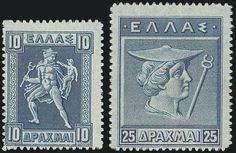 1911 Engraved issue, complete set of 16 values, m.