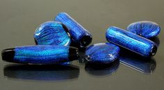 Unique Handcrafted Dichroic Lampwork Beads, inspired from the iridescent coulors of Butterflys and Beetles. Glass Jewelry, Glass Beads, Lampworking, Beetles, Lampwork Beads, Iridescent, Jewelery, Handmade Jewelry, Butterfly