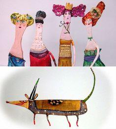 papel_mache_figuras - http://www.julianabollini.blogspot.com.es