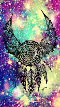 Tribal Dreamcatcher Galaxy Wallpaper #androidwallpaper #iphonewallpaper #wallpaper #galaxy #sparkle #glitter #lockscreen #pretty #pink #cute #dreamcatcher #girly #tribal #drawing #sky #stars