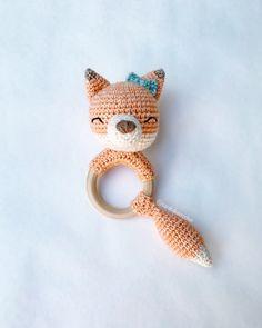 Emma the Fox Rattle Modifications – SarahDee Crochet