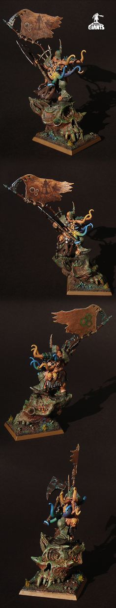 CHAOS NURGLE LORD GUTROT SPUME