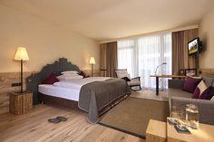 Modern Living at the Hotel Bergland Sölden Design Hotel, Superior Hotel, Hotels, Bed, Modern, Rooms, Furniture, Home Decor, Bedrooms