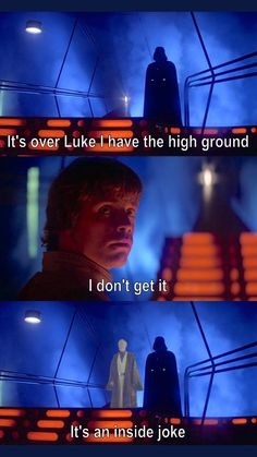 42 Star Wars Memes That Are No Power - Funny Gallery - Things - . - 42 Star Wars Memes That Are No Power – Funny Gallery – Things – - Star Wars Trivia, Simbolos Star Wars, Star Wars Jokes, Star Wars Facts, Star Wars Film, Funny Star Wars Quotes, Tableau Star Wars, Memes Gretchen, Prequel Memes
