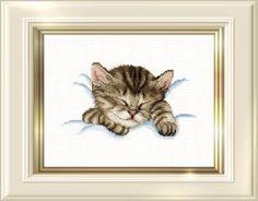 Gallery.ru / Фото #3 - котёнок спит - muha-cc