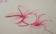 Flower #10 - Stippling by FDotArt
