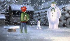 The Snowman And The Snowdog celebrates anniversary on Christmas Eve Christmas Scenes, Christmas Movies, Christmas Photos, Father Christmas, Christmas Eve, Snowman And The Snowdog, Raymond Briggs, Snowman Wallpaper, Volunteer Firefighter