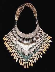 Necklace | Masha Archer from Gallery Mack. 'Chinese Bib'