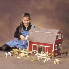 Ruff-n-rustic Barn Dollhouse By Rgt