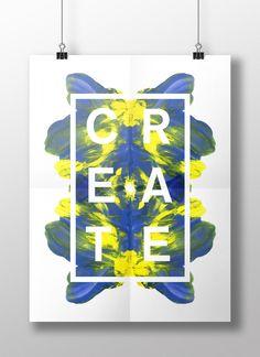 CREATE - POSTER - TOVE WENDELIN  www.tovewendelin.se