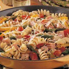 asparagus ham dinner -- 5 pts plus per 1 1/3 cups
