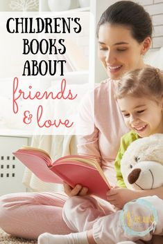 These children's books about friends and love are great for kids. Reading allows kids to process and make sense of topics otherwise hard to understand. Activities For 1 Year Olds, Kids Learning Activities, Sensory Activities, Fun Learning, Emotional Books, Social Emotional Activities, Learning Through Play, Lessons For Kids, Childhood Education