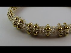 Sterling Gold Necklace Jewelry: DIY Beads Creation part 1 - YouTube