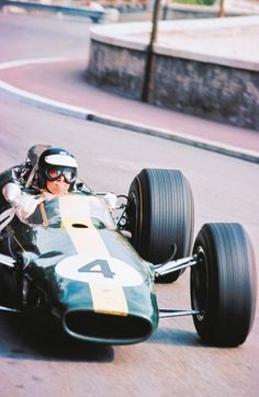 """""""Jimmy Clark has possibly the greatest born ability of any world champion. Of Clark and myself, I would say that he is the more talented. He is not Juan Fangio. I would not put him in that class. Fangio was the one absolute of driving, but Clark may be close."""" - Stirling Moss in 1963"""