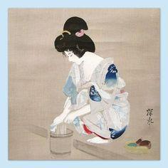 Japanese Art Styles, Japanese Art Prints, Japan Illustration, Japan Painting, Japan Art, Japanese Culture, Sculpture, Traditional Art, Virtual Memory