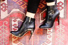 Leather booties to wear every.single.day. Nour Jensen A/W '15. www.nourjensen.com