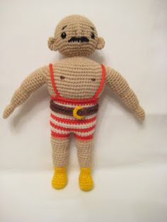 Born to crochet, forced to work: Ivan the Great, the Circus Strongman