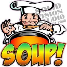 "7"" Soup Concession Trailer Restaurantr Food Sign Decal"