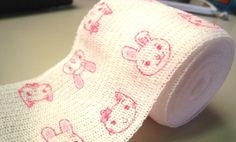 Katarina's bandages for the kids when they get hurt