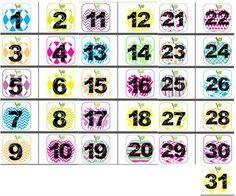 Calendrier perpétuel pour la classe - Les alphas de LaCatalane French Classroom Decor, Petite Section, Diy For Kids, Montessori, Preschool, Scrapbook, Activities, How To Plan, Education