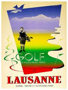 Zwitserland reizen Poster Zwitserse Wall Art Print door Blivingstons