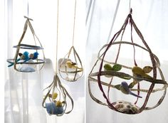 Bird Cages: Handmade by Tamar Mogendorff