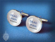 Dead Man Walking Cufflinks    FUN wedding by GothChicAccessories, €15.00