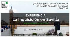 """Sorteo de la Experiencia """"La Inquisición en Sevilla"""" de la mano de nuestra Andfritriona del mes. ¡Participa y suerte!   #Andfitriondelmes #Julio"""