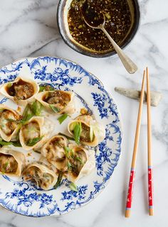 Lamb and Shrimp Dumplings