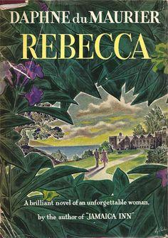 { Daphne du Maurier | Rebecca 1938 | Jacket design by Hy Rubin }