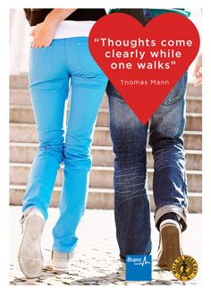 Thoughts come clearly while one walks. - Thomas Mann #Quote @BupaAustralia