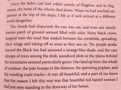 Orhan Pamuk, The Red Haired Woman Quote