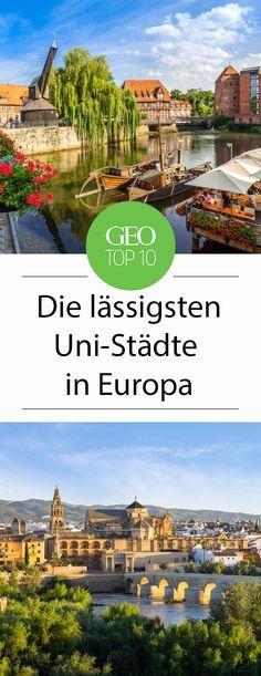 Großstadtcampus adé! Studierende in und außerhalb Deutschlands zieht es immer öfter in kleinere Städte, dort ist nicht selten das Studentenleben bunter. Diese zehn Städte verzaubern nicht nur Studierende sondern auch Reisende mit ihrem Flair