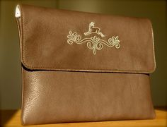 iPad Leather Sleeve Bavarian Syle
