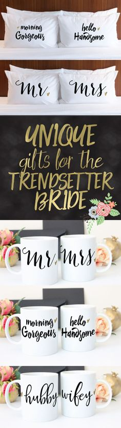 "Is your friend or are you a ""Trendsetter Bride""? Here are some great gifts ideas!"