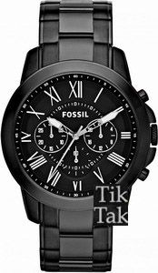 Fossil Grant Chrono Stainless Steel Bracelet FS4832