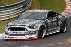 Ford Mustang SVT caught looking fierce on the 'Ring