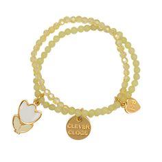 Clever Clogs Crystal Bracelet by #jacquesandsienna