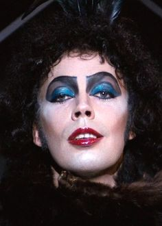 rocky horror picture show makeup - Ecosia Rocky Horror Show, The Rocky Horror Picture Show, Show Makeup, The Frankenstein, Tim Curry, Horror Makeup, Perfect Makeup, Glam Rock, Movies Showing