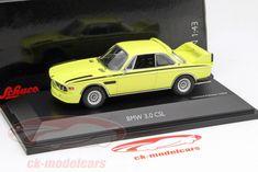 CK-Modelcars - 450219000: BMW 3.0 CSL (E9) желтый 1:43 Schuco, EAN 4007864021901