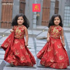 Kids lehenga from Anitha reddy