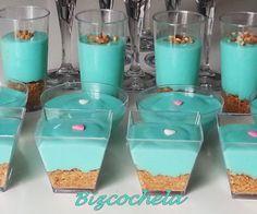 SUSPIRITOS AZULES: DULCE DE MARSHMALLOW Sweet Recipes, Pudding, Turquoise, Birthday, Desserts, Marshmallow, Food, Advice, Baby Shower