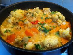 תבשיל ירקות וקטניות בקארי